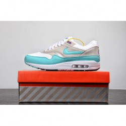 Original channel nike air max 1 mint green whit