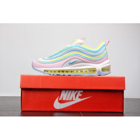 6f39a222eb Bespoke Colorway Theshoegame X Nike Air Max 97 Corduroy Pink Vintage  All-match Jogging Shoes