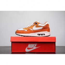 Original Channel Super Hot Cake Nike Air Max 1 OG 30th Anniversary Vintage Air Jogging Shoes Curry Yellow Whit