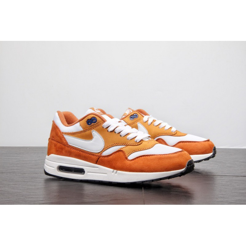 Air Max One Nike,Original Channel Super Hot Cake Nike Air Max 1 OG 30th Anniversary Vintage Air Jogging Shoes Curry Yellow Whit