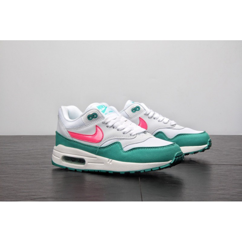 2864c24f95 ... Super Hot Cake Beauty Colorway Nike Air Max Anniversary 1 Vintage Air  Jogging Shoes Watermelon Green ...