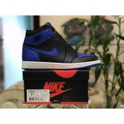 Factory Lacing Class Air Jordan 1 Retro OG High Royal Don't Black And Blue Colorway 555088-00
