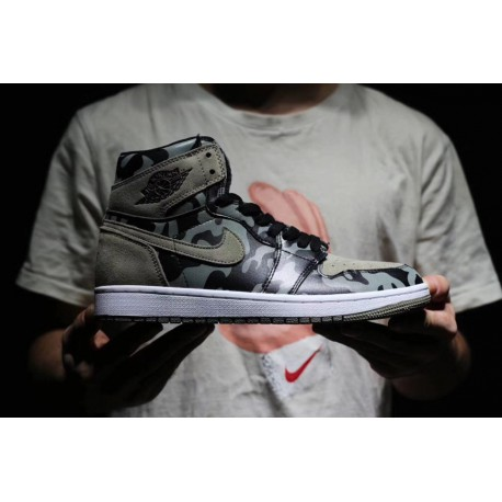 04f3fe3b3ee0a Air jordan 1 black camouflage camo joe 1 black camouflage chance tiger  flapping shoes type most