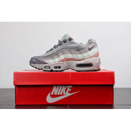 huge selection of 8af8c ed80e Best Nike Air Max 95 Colorways,Nike Air Max 95 Best Price,413-002 ColorWay  Nike Air Max 95 TT Grey Cherry Blossom Full Color