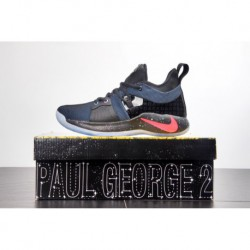 Nike Pg2 George Boots Playstation Colorway Tongue Two Small Lights Finishing Touches With Pro Pepper's Favorite Ps Game Console