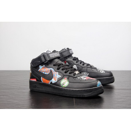 reputable site 036ce e51a9 Nike Air Force 1 High NBA,Nike Air Force 1 07 NBA,Supreme x NBA x Nike Air  Force AF1 Tripartite Crossover Air Force One can see