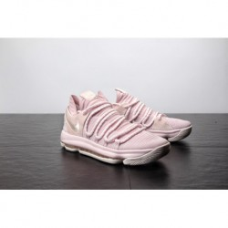 Nike kd 10 aunt pearl anti-breast colorway white powder original lightweight actual compress try on the shoe