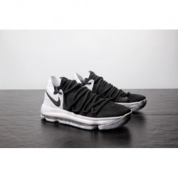 Nike Zoom Kd10 EP Kevin Durant 10 Tai Chi Black And White Marble 897815-008 light actual comba