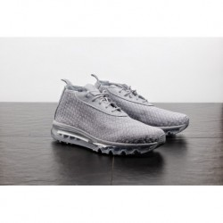 Mens nike air max woven boot hybrid woven total air mid jogging shoe