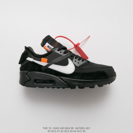 6ded3ce5428 Aa7293-001 Virgil Abloh Designer Independent Brand OFF White X Nike Air Max  90 Air