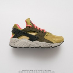 830-302 nike air huarache first class wallace classic all-match athleisure shoe jogging shoes olive lake petrol phospho