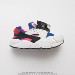 Ah8049-100 Nike Air Huarache Run OG First Generation Wallace Vintage Jogging Shoes OG White Blue Peach Powde