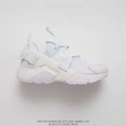 Nike-Huarache-City-Preschool-AH6804-100-Nike-Air-Huarache-City-Low-18-Edition-Wallace-City-Function-All-match-Jogging-Shoes-Who