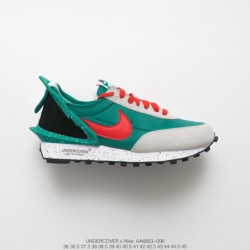 Aa6853-06 UNDERCOVER X Nike Waffle Racer New Waffle Racing Avant-Garde jogging shoes red/ grey black/ gree