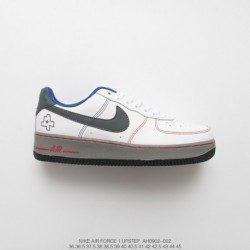 Ah0902-002 nike air force 1 07 lv8 texas city limited edition air force low casual skate shoes bespoke original leather total a