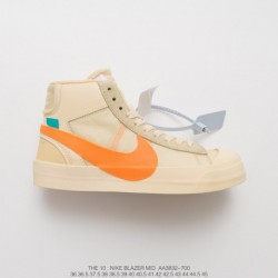 Nike-Blazer-MID-Yellow-Nike-Off-White-MID-Blazer-AA3832-700-Off-White-x-Nike-Blazer-Mid-Blazer-Classic-Mid-All-match-Skate-shoe