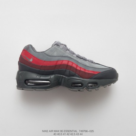 new products bec2d ad3b4 Red Black Nike Air Max 95,Nike Air Max 95 Black Red,766-025 Nike Air Max 95  Vintage Air Jogging Shoes Grey Black Brown Red