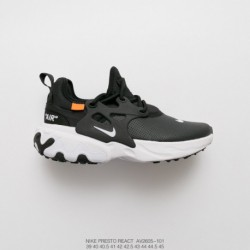 AV2605-101 nike presto react undercover legs up all-Match jogging shoe