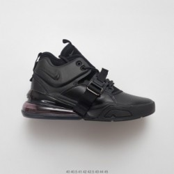 Nike air force 270 qs air force mid half palm air jogging shoe