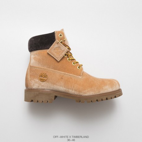 Cheap Timberland 6 Inch Premium Boot,Cheap Timberland Boots China,OFF WHITE x Timberland 6 Inch Boot Rhubarb Boots Crossover Fo