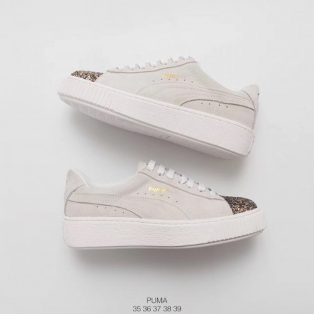 new concept b0d98 02e15 Rihanna Shoes Fenty PUMA,PUMA Platform Shoes Rihanna,PUMA Rihanna Fenty  Creeper Off-white Drill Rihanna II Dairy Platform Shoes