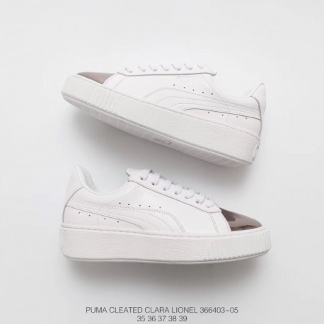 new product f0d4a 9135e Rihanna Fenty PUMA White,Fenty PUMA Shoes Rihanna,PUMA Rihanna Fenty  Creeper Off-white Drill Rihanna II Dairy Platform Shoes