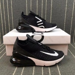 Buy Nike Flyknit Max,Nike Flyknit Max Cheap,Nike AIR MAX 270 FLYKNIT Half Palm Air Trainers Shoes AH6803 001