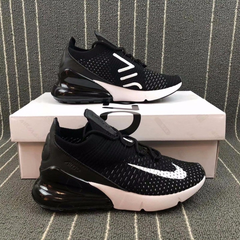 610e7f642b7aea Nike AIR MAX 270 FLYKNIT Half Palm Air Trainers Shoes Ah6803-00 ...