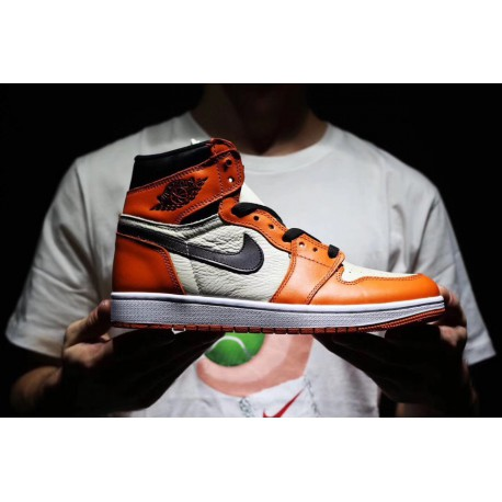 Leathe air Backboard Sale Aj1 For Jordan Buckle Upper Air 1 Backboard Premium Shattered nike 9YWEHD2I
