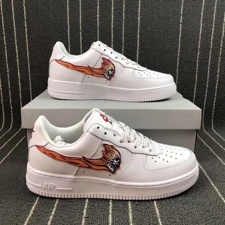 Nike Air Force 1 Low RETRO Air Force Low Casual Skate Shoes WISP 823512-10