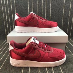 Nike-Shoes-Air-Force-1-Red-Nike-Air-Force-1-Grey-Red-Nike-Air-Force-1-00-Anniversary-Edition-Red-Satin-Air-Force-Low-Casual-Ska