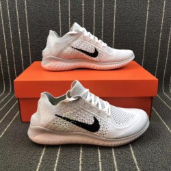 Nike free rn flyknit 2018 free mesh breathable sports trainers shoes 942838-10