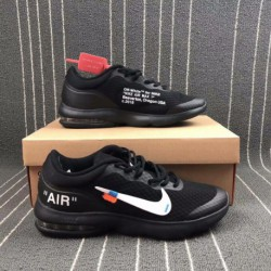 Nike AIR MAX Adidas VANTAGE X Off White Crossover Half Palm Air Cushioning Breather Trainers Shoes 908981-00