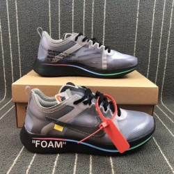 Company The:10 Nike Zoom Fly X OFF WHITE Crossover Marathon Racing Shoes Aj4588-01