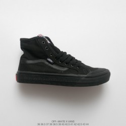 18 Creative Crossover UNISEX Off-white X Vans Second Generation Duck Hig