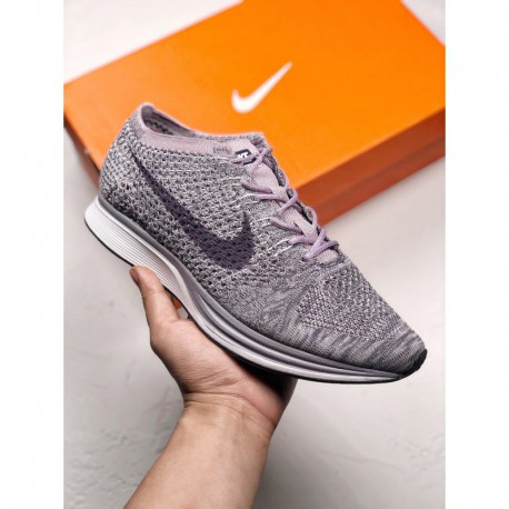 628 604 nike flyknit racer lightweight with oversized mesh flyknit textile  fabric for super breathable fee 63bc8ac92421